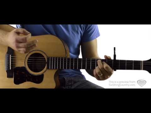 Dust on the Bottle - Guitar Lesson and Tutorial - David Lee Murphy