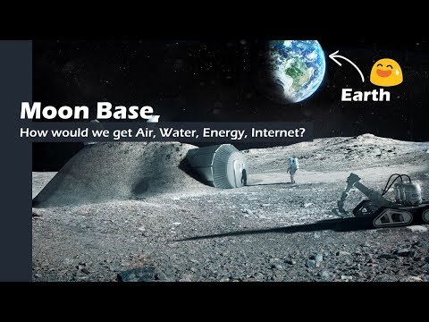 Base on the Moon, how does it work?