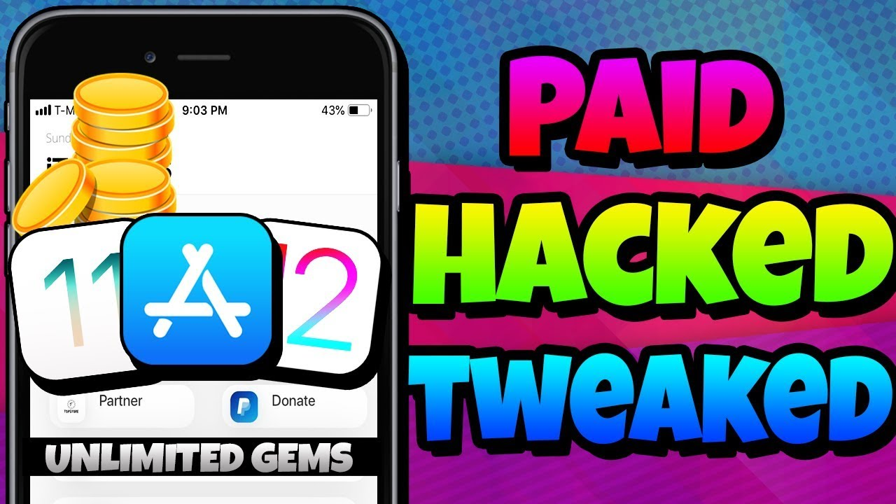 New Install Paid Tweaked Apps Hacked Games Free Ios 12 11