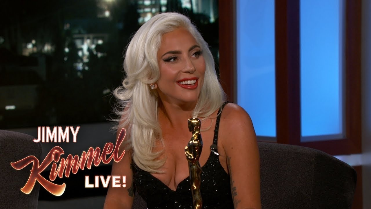 "Lady Gaga on Oscar Win & Being ""In Love"" with Bradley Cooper image"