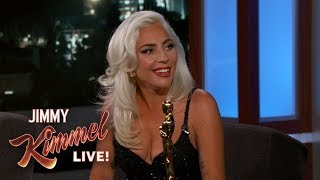 "Lady Gaga on Oscar Win & Being ""In Love"" with Bradley Cooper Video"