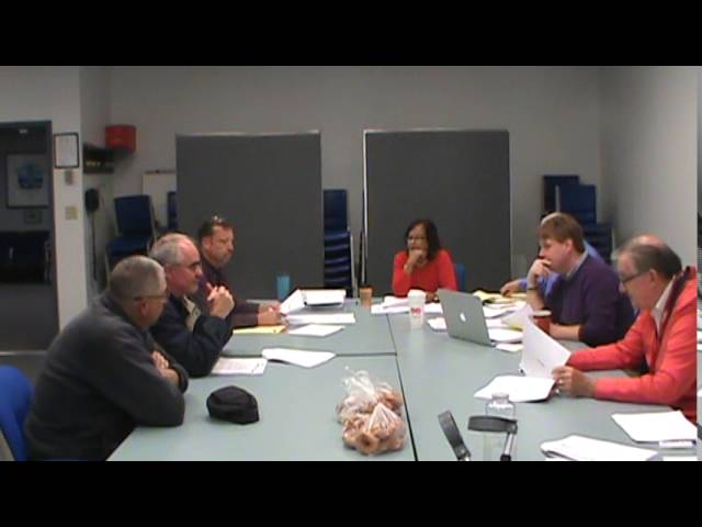 Town of Plattsburgh Budget meeting  10-15-16