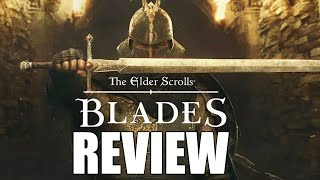 The Elder Scrolls Blades Review - A Boring, Mundane, Monotonous Experience (Video Game Video Review)