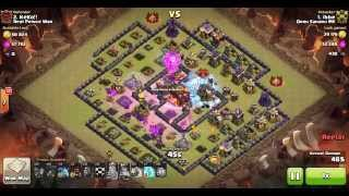 TH10 LAVALOONION WAR ATTACK   3 STAR by IBBE on Clash of Clans.