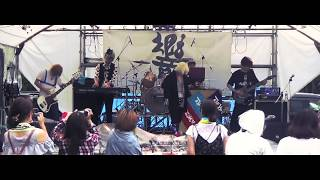 LIVE PV at 響@佐渡ヶ島 新穂ダム 2017/7/16 The World is Mine. are ...