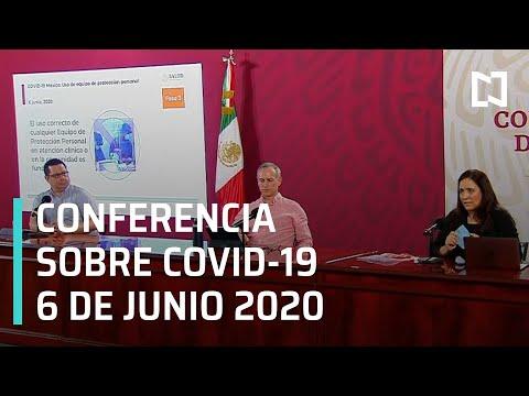 Conferencia Covid-19 México - 6 junio 2020