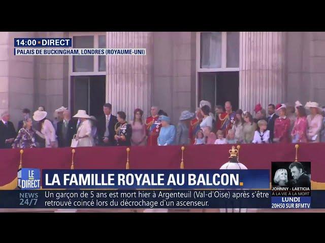 La famille royale se rassemble à Buckingham pour les 92 ans de la Reine