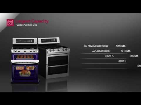 LG LDG4313ST 30 Inch Gas Freestanding Range, in Stainless