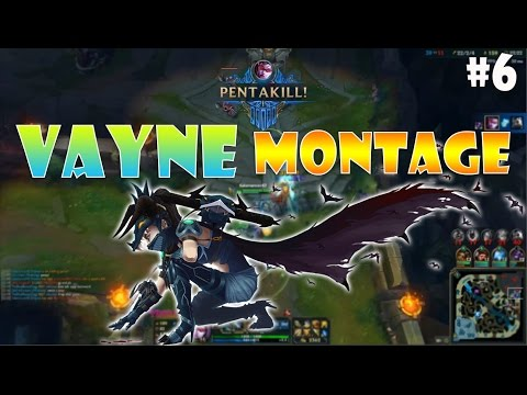 Vayne Montage #6 - When Bronze,Silver,Gold Plays Vayne - League of Legends