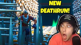 CIZZORZ TRIES *NEW* DEATHRUN!! (Fortnite Creative Map)