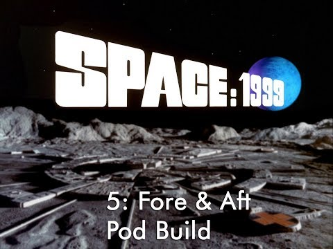 """22"""" Space: 1999 Eagle Transporter Special Edition 5: Fore & Aft Pod Assembly"""