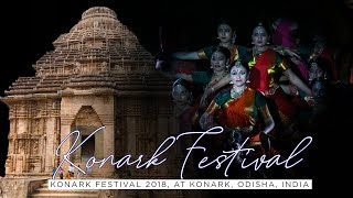 KONARK DANCE FESTIVAL 2018, ODISHA, INDIA