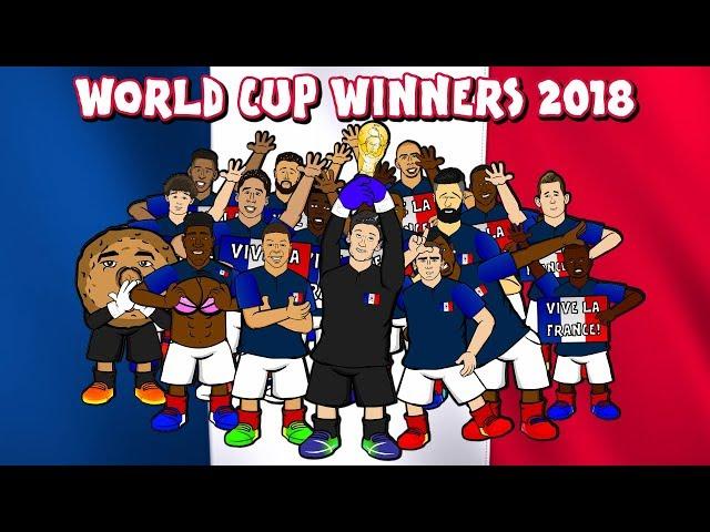 🇫🇷🏆 FRANCE WIN THE WORLD CUP! 🏆🇫🇷 (France vs Croatia 4-2 Highlights Goals Parody 2018)