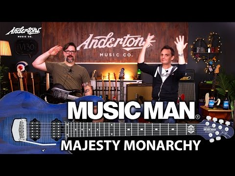 Music Man John Petrucci Majesty Monarchy Demo!