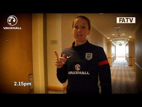 A Day In The Life: Casey Stoney with England Women in Turkey