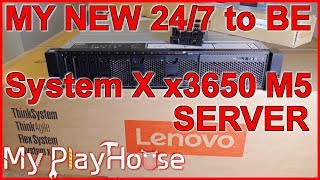 NEW - Lenovo System X3650 M5 (8871) Server at My PlayHouse - 780