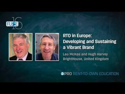 Fuse 2016: RTO in Europe: Developing and Sustaining a Vibrant Brand