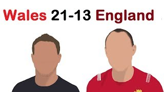 6 Nations 2019-  Wales 21-13 England, Review, GATLAND TACTICAL MASTERCLASS!