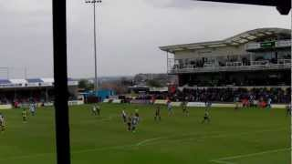 Bristol Rovers during Burton Albion Home