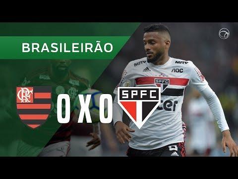 FLAMENGO 0 X 0 SÃO PAULO - MELHORES MOMENTOS - 28/09 - BRASILEIRÃO 2019