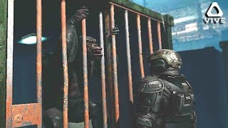 SCARY APE BEH ND BARS • CR S S PLANET OF THE APES VR   HTC V VE GAMEPLAY