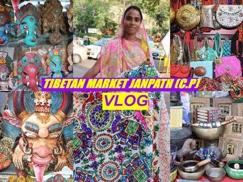 TIBETAN MARKET - JANPATH MARKET (C.P) - VLOG | TRAVEL WITH ME | BEAUTY SECRET REALITY