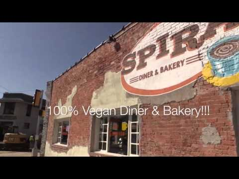 My Visit to Spiral Diner Vegan Restaurant in Texas!