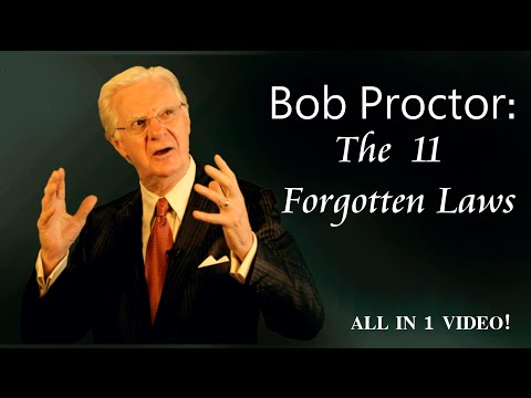 Bob Proctor: The 11 Forgotten Laws - COMPLETE COLLECTION