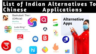 Chinese Apps Best Alternative || Tiktok, Share it, Helo, photo, video sharing, Browsers, Shopping ||