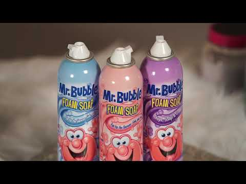 Make Your Own Mr Bubble Fluffy Slime!