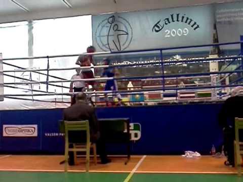 Nikita Molodkin vs Andrei Harchenko (EMV 2012(U-23) 64kg Final ) Raund 3