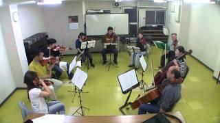 弦楽横好きアンサンブル本日の練習報告。 2 踊り明かそう 何回か通し練...
