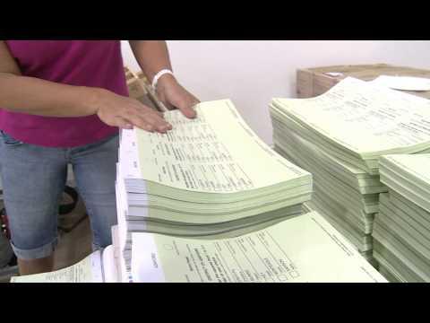 ECSA  - Ballot paper printing