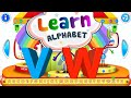 Learn Letters V W | Kids Learn ABC and English while Playing | Kids Learn and Play
