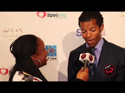 Quencie Interviews #Greenleaf Actor Benjamin Patterson at Breaking The Silence