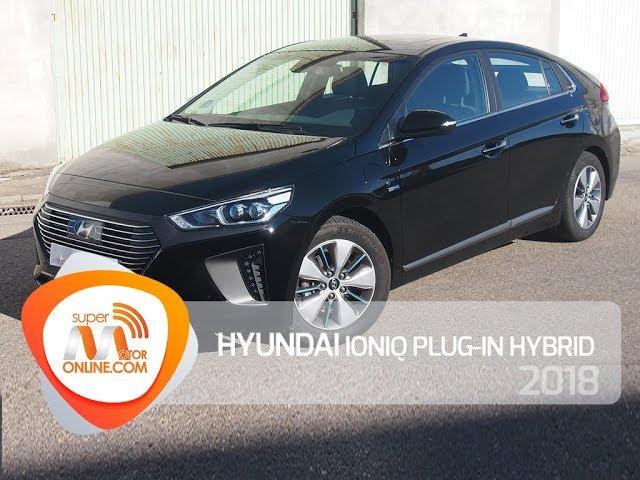 Hyundai IONIQ plug in hybrid 2018 / Al volante / Prueba dinámica / Review / Supermotoronline.com