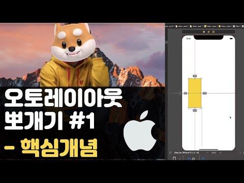 취준생을 위한 아이폰 앱개발 강좌 오토레이아웃 개념  - Swift UIkit fundamental Tutorial (2020) - autolayout basic concept