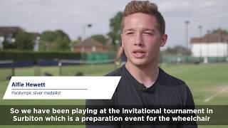 Wimbledon preview: Alfie Hewett