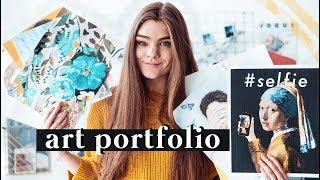 ART PORTFOLIO - Meine Kunstmappe 2018 // I'mJette