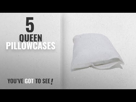 Top 10 Queen Pillowcases [2018]: Allersoft 100% Cotton Bed Bug, Dust Mite & Allergy Control Pillow