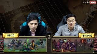 DAC 2018 | Playoffs | Mineski vs VG | Bo 3 - Game 2 | Caster : KAH ft 307