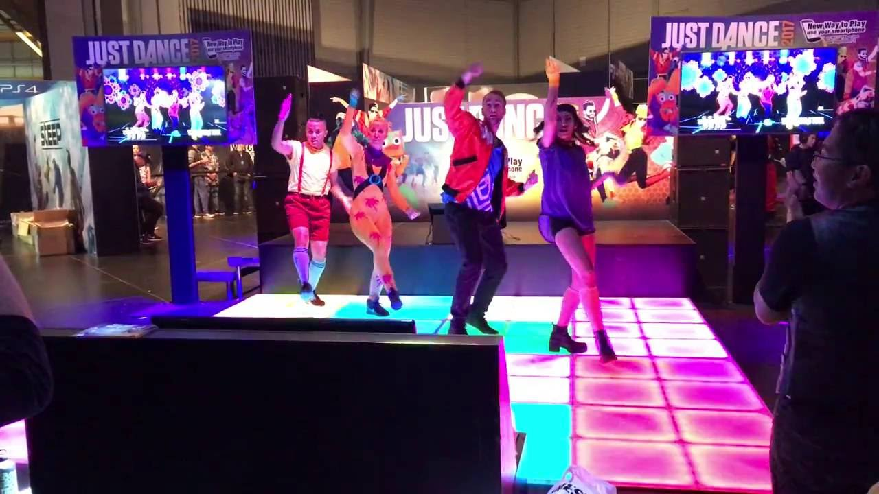 Just Dance 2017 Demo Performance Am Friday 30 September