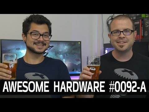Awesome Hardware #0092-A: Ryzen to Launch at GDC? Intel's Pentium G4560, SpaceX Returns