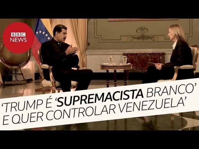 Entrevista completa Nicolás Maduro: 'Ku Klux Klan que governa Casa Branca quer tomar Venezuela'
