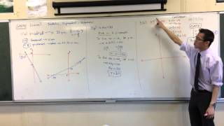Linear Graph Review: Comparing Different Gradients
