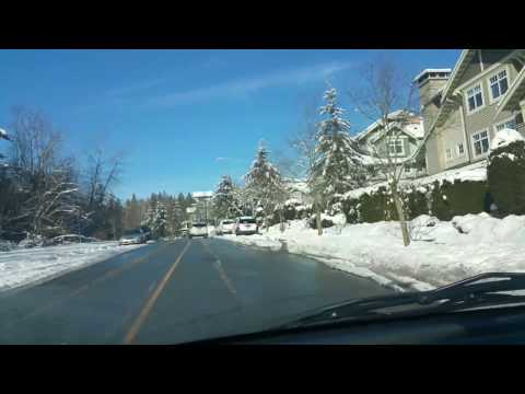 Driving From New Westminster, B.C to  Vancouver, B.C