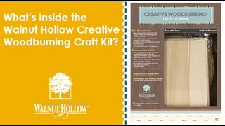 Walnut Hollow The Creative Woodburning Craft Kit