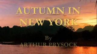 Autumn In New York By Arthur Prysock