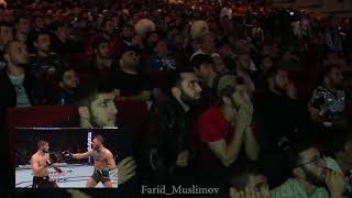 Kashmiries reaction of the fight (khabib vs corner )