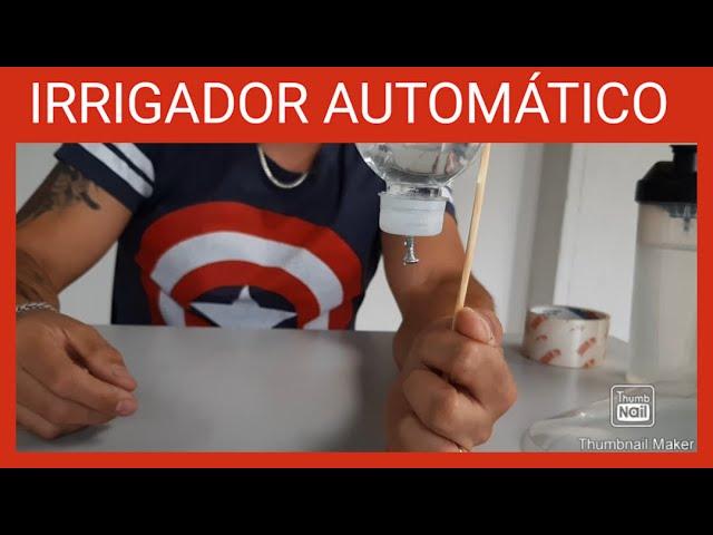 Irrigador Automático - Professor Igor (Curso de Jardinagem)